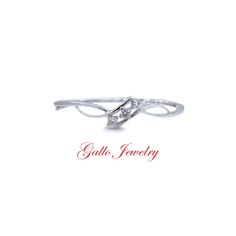 Ladies Diamond Bangles