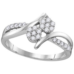 53014. Forever Us Two Stone Fashion Ring