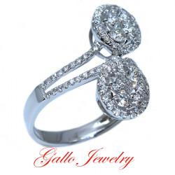 LR00945. Ladies Fancy Diamond Ring