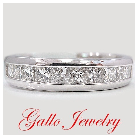band platinum wg white jewelry in bands cut princess wedding fascinating diamond bar with diamonds nl