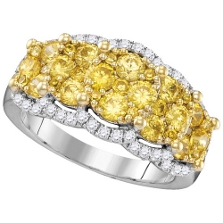 PEN01210. Fancy Rose Gold Diamond Cross Pendant