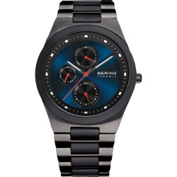 32339-788. BERING MEN's STAINLESS STEEL GREY WATCH