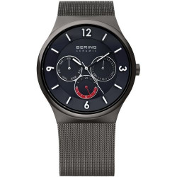 33440-077. BERING MEN's MILANESE GREY WATCH