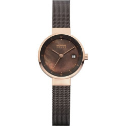 14426-265. BERING WOMEN'S MILANESE BROWN WATCH