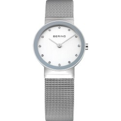 10126-000. BERING WOMEN'S MILANESE SILVER WATCH