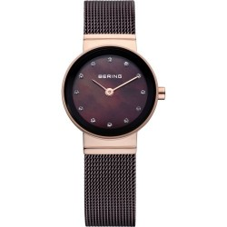 10122-265. BERING WOMEN'S MILANESE BROWNWATCH