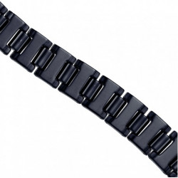 25365. Men's Black Tungsten Steel Bracelet