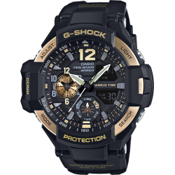 GA1100-9GCR. G-Shock GravityMaster Twin Sensor Dual  Dial