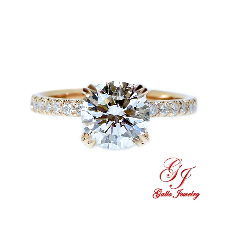 earth forever ring products one pear and or jewellery engagement grande moissanite set rare diamond jewelry wedding cut halo