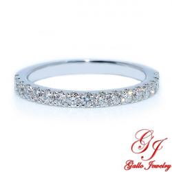 LB01818. Thin Diamond Wedding Band