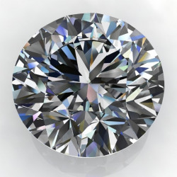RM01827. 2.20ct Round Forever One Loose Moissanite Stone