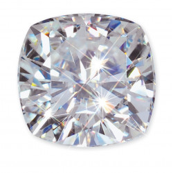 CM01840. 1.30ct Cushion Forever One Loose Moissanite Stone