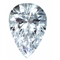 PM01859. 2.10ct Pear Forever One Loose Moissanite Stone