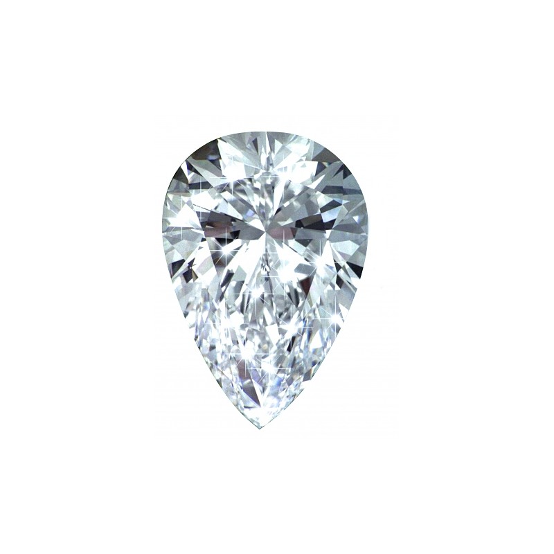 PM01858. 1.50ct Pear Forever One Loose Moissanite Stone