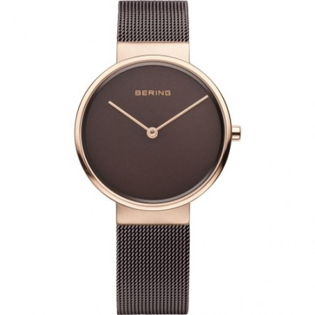 14539-262 BERING MEN'S MILANESE ROSE WATCH