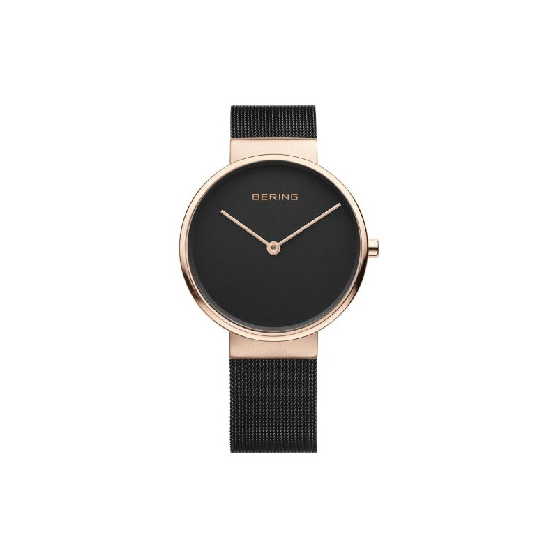 14539-166 BERING MEN'S MILANESE ROSE WATCH