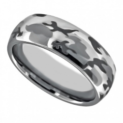 41924. Men's Tungsten Wedding Band