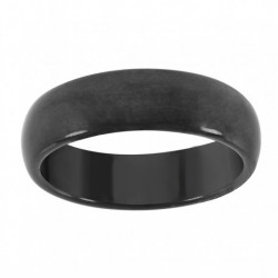 40040. Men's Black Tungsten Wedding Band