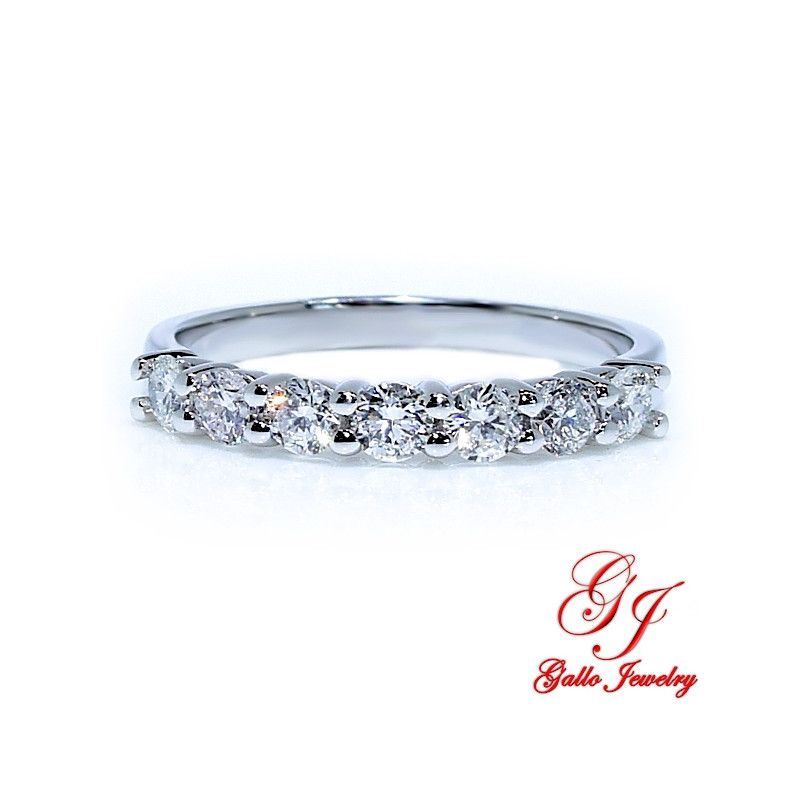 WB01312. Women's Diamond Prong Set Wedding Band