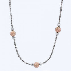 S018A. Ladies Sterling Silver Necklace