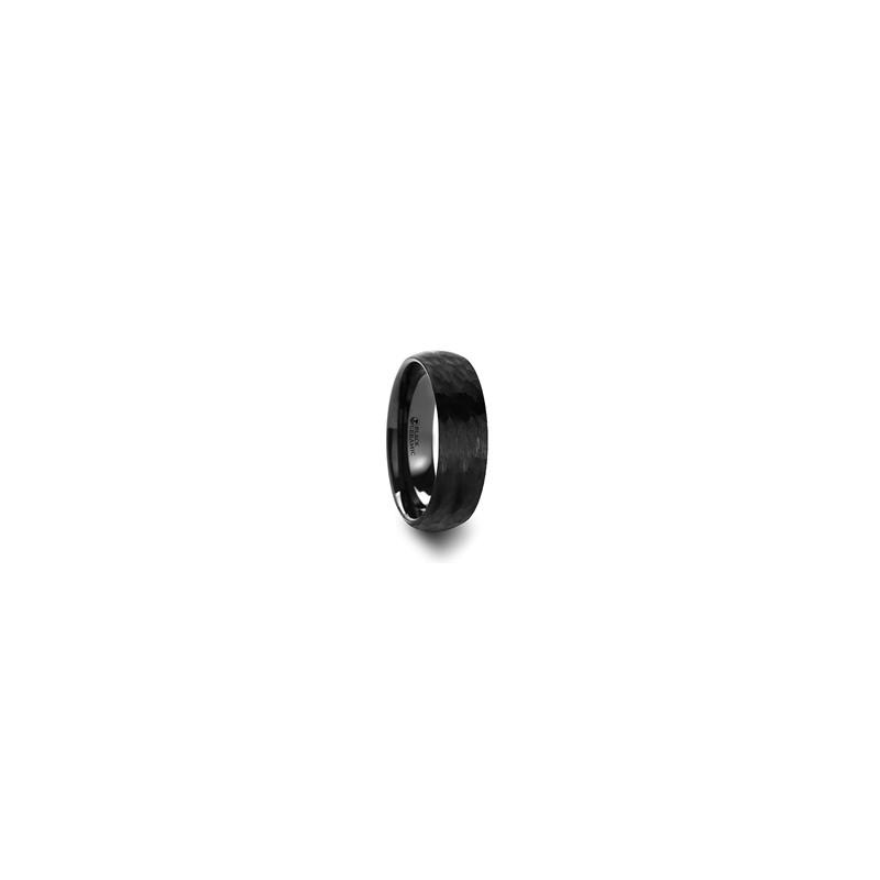 W295 Tcdh Ragnarok Domed Hammer Finish Black Ceramic
