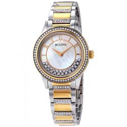 98L245. BULOVA Women's TurnStyle Crystal