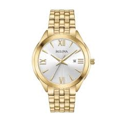 97B180 Classic Gold Tone Men's Watch