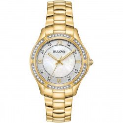 98L256 BULOVA Gold-Tone Stainless Steel Watch
