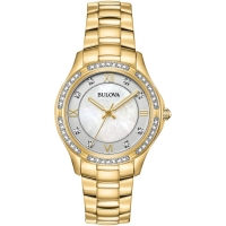 98L256 BULOVA Gold-Tone Stainless Steel Watch