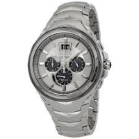SSC627 SEIKO. Coutura Stainless Steel Solar Chronograph Watch