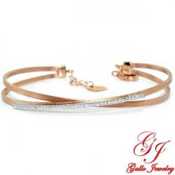 LB02683. Woman's Diamond Bangle Bracelet