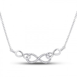 91057. Diamond Fashion Infinity Pendant