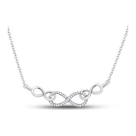 91057. Diamond Fashion Infinity Pendant