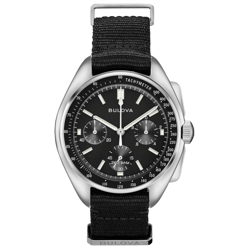 96A225. Bulova Men's Special Edition Lunar Pilot Chronograph Watch