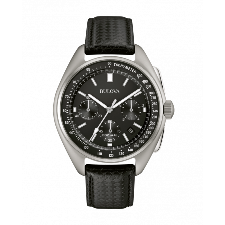 96B251. Bulova Men's Special Edition Lunar Pilot Chronograph Watch & Interchangeable Band Set