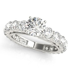 50491-E. Diamond  Engagement Ring (Center Stone Sold Separately)