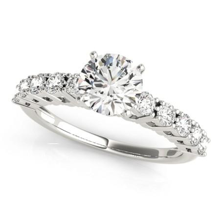 50496-E. Diamond  Engagement Ring (Center Stone Sold Separately)