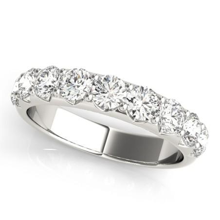 50353-W-20. 2.00CT Ten Stone Diamond Wedding Band